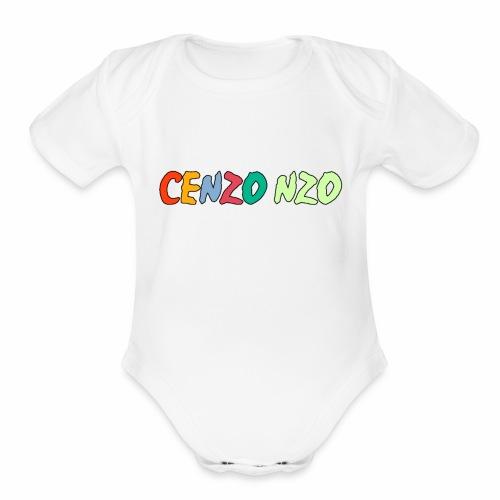 Cenzo NZO Merch - Organic Short Sleeve Baby Bodysuit
