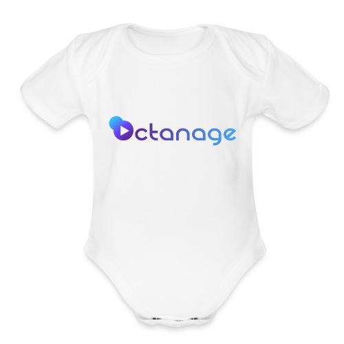 Octanage - Organic Short Sleeve Baby Bodysuit