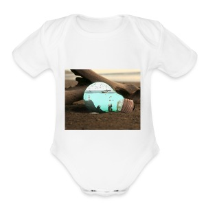 Speed display - Short Sleeve Baby Bodysuit