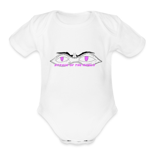 Attack Of The Rivals: Domino - Organic Short Sleeve Baby Bodysuit