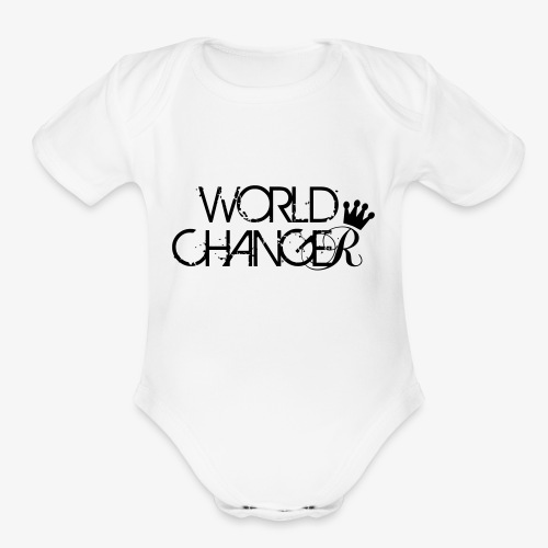 World Changer - Organic Short Sleeve Baby Bodysuit