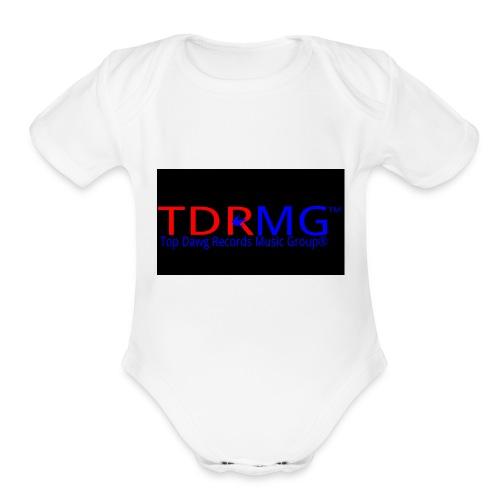 Top Dawg Records Logo - Organic Short Sleeve Baby Bodysuit