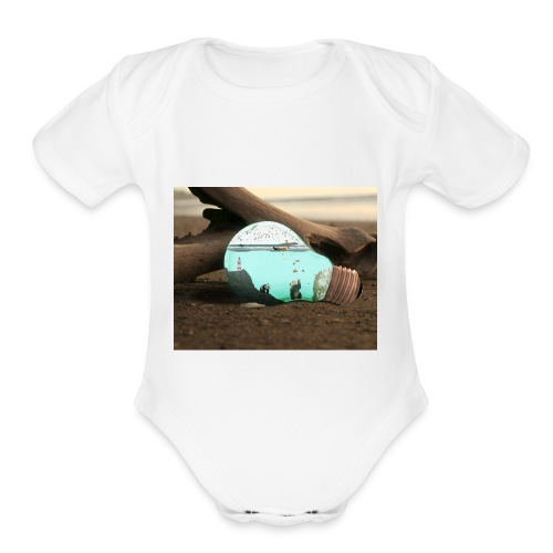 Speed display - Organic Short Sleeve Baby Bodysuit