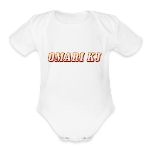 Omari kj - Organic Short Sleeve Baby Bodysuit