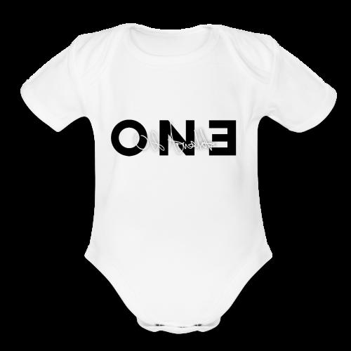 One by Ulf Arnalds - Organic Short Sleeve Baby Bodysuit