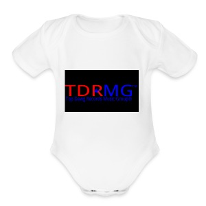 Top Dawg Records Logo - Short Sleeve Baby Bodysuit