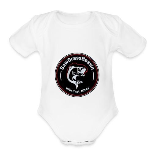 SawGrassBassin SWAG - Organic Short Sleeve Baby Bodysuit