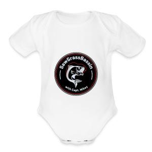 SawGrassBassin SWAG - Short Sleeve Baby Bodysuit