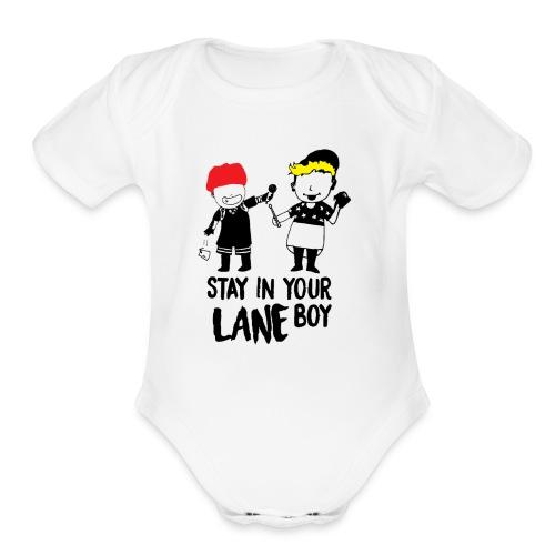 Funny Boys - Organic Short Sleeve Baby Bodysuit