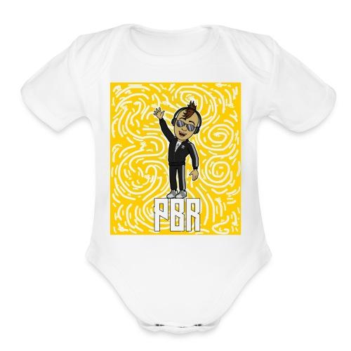 20180204 045818 - Organic Short Sleeve Baby Bodysuit