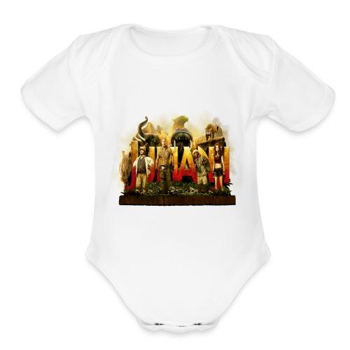 Jumanji - Organic Short Sleeve Baby Bodysuit