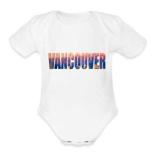 Sweet Vancouver Tees - Organic Short Sleeve Baby Bodysuit