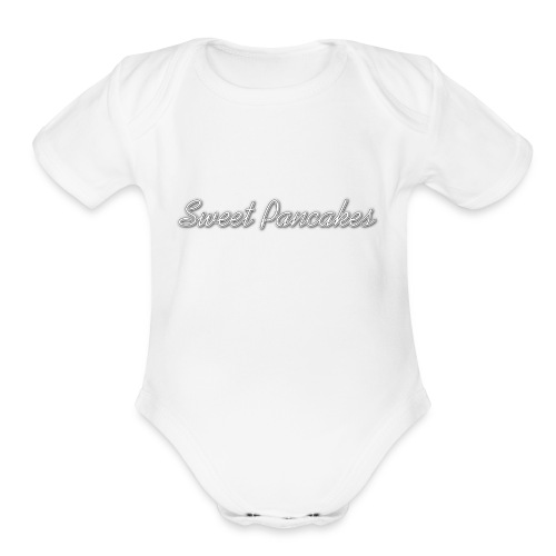 Sweet Pancakes - Organic Short Sleeve Baby Bodysuit