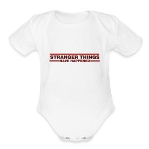 LargeDesign Ayush - Short Sleeve Baby Bodysuit