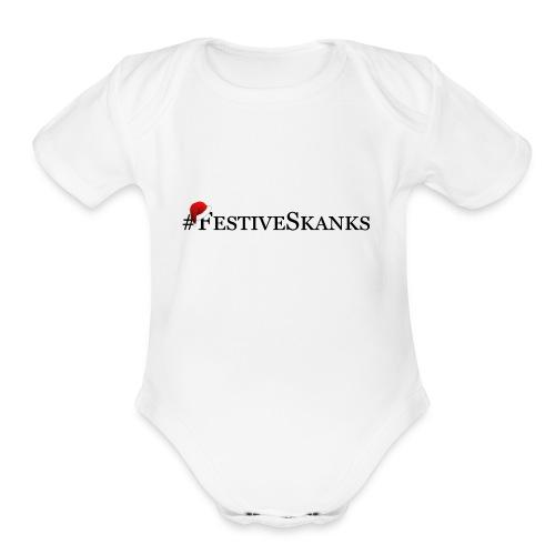 Festive Skanks Phone Case! - Organic Short Sleeve Baby Bodysuit