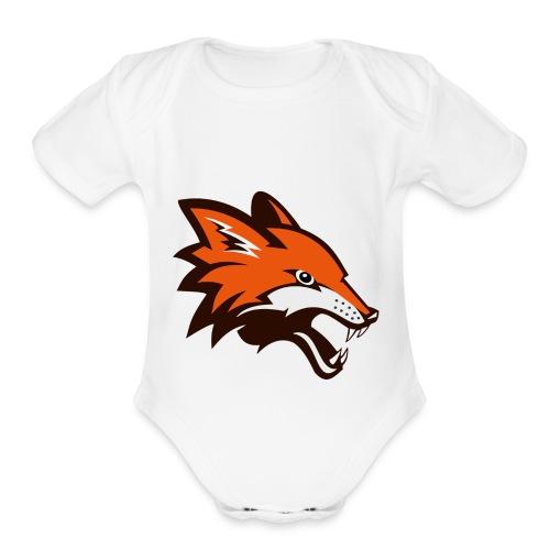 The Australian Devil - Organic Short Sleeve Baby Bodysuit