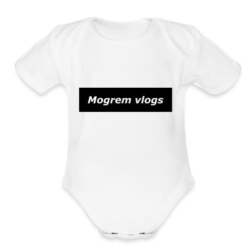 gis13 - Organic Short Sleeve Baby Bodysuit