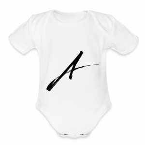 Aiden Cain Vlogs Official March - Short Sleeve Baby Bodysuit