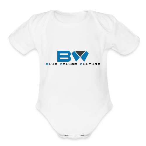 BLUE COLLAR CULTURE - Organic Short Sleeve Baby Bodysuit
