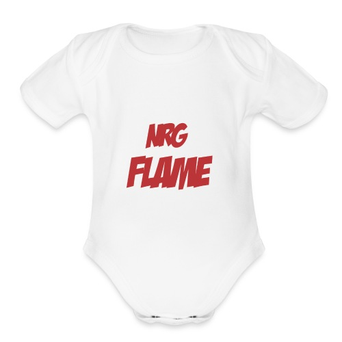 Flame For KIds - Organic Short Sleeve Baby Bodysuit