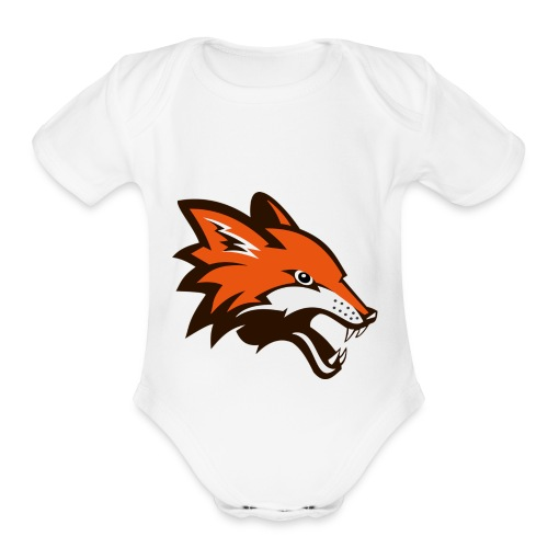 The Australian Devil - Organic Short Sleeve Baby Bodysuit