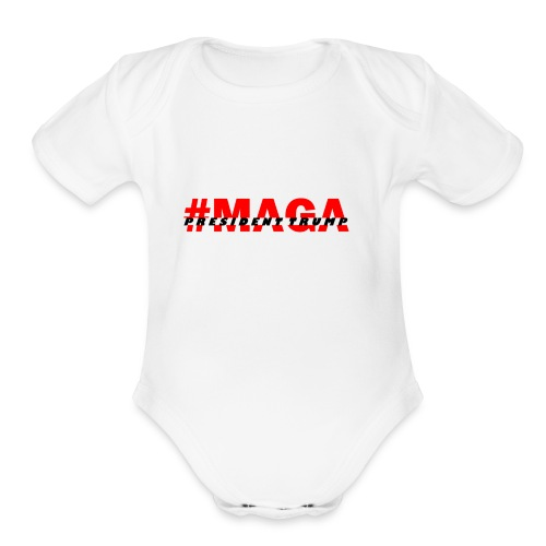 Make America Great - Organic Short Sleeve Baby Bodysuit
