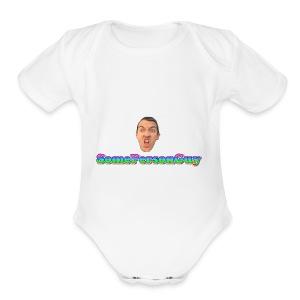 SomePersonGuy TShirt - Short Sleeve Baby Bodysuit
