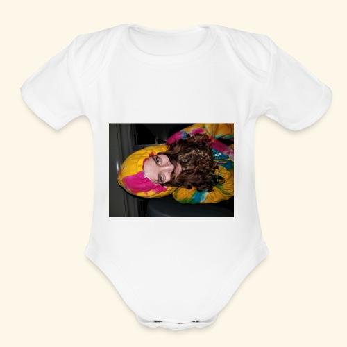 Shelby the Man - Organic Short Sleeve Baby Bodysuit