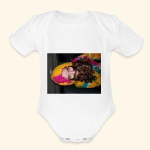 Shelby the Man - Short Sleeve Baby Bodysuit