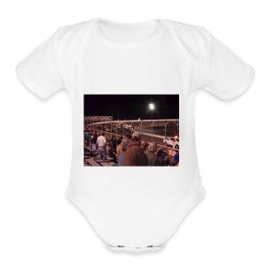 super cup stock car series 2017 - Short Sleeve Baby Bodysuit