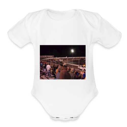 super cup stock car series 2017 - Organic Short Sleeve Baby Bodysuit