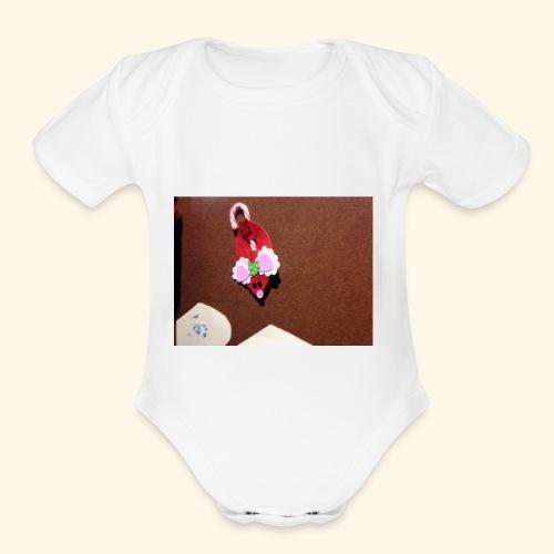 IMG 0186 - Organic Short Sleeve Baby Bodysuit