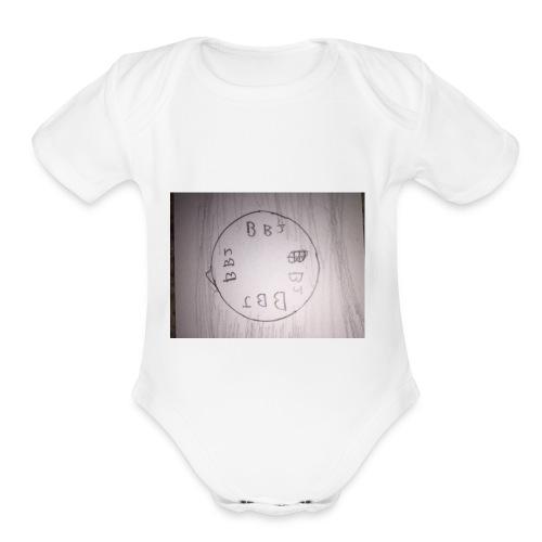 Epic beach boi joe merch - Organic Short Sleeve Baby Bodysuit