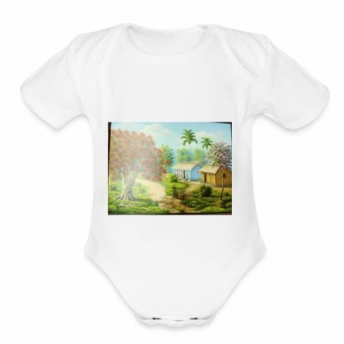 Country Side - Organic Short Sleeve Baby Bodysuit