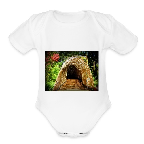 Longue Vue House and Gardens - Organic Short Sleeve Baby Bodysuit
