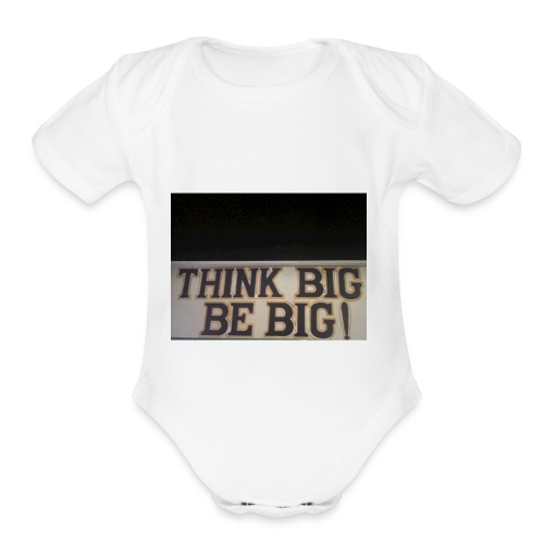 A Mind Is A Bad Thing To Waste. - Organic Short Sleeve Baby Bodysuit