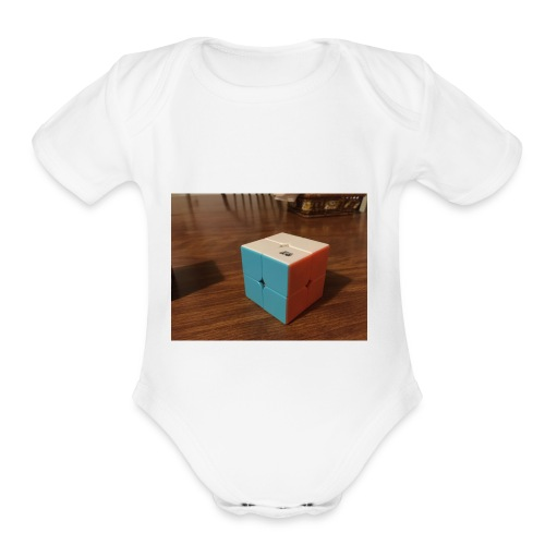 JeT FaM phone case - Organic Short Sleeve Baby Bodysuit