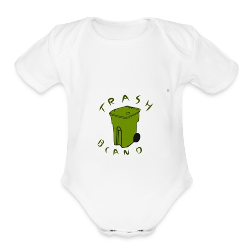 Trash brand - Organic Short Sleeve Baby Bodysuit