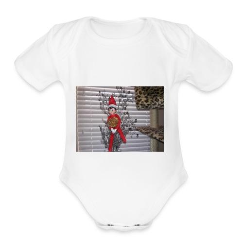Elf manshin - Organic Short Sleeve Baby Bodysuit