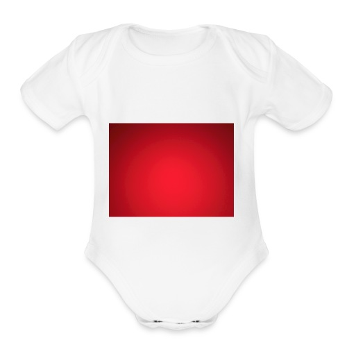 Red Hot Merch - Organic Short Sleeve Baby Bodysuit