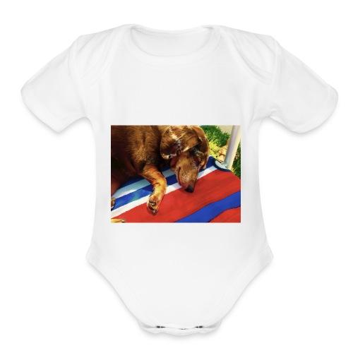 Treyden Dimeo - Organic Short Sleeve Baby Bodysuit