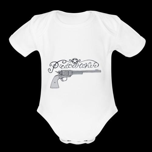 Peacemaker - Organic Short Sleeve Baby Bodysuit