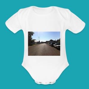 Vintage Road - Short Sleeve Baby Bodysuit