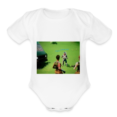 best skin - Organic Short Sleeve Baby Bodysuit
