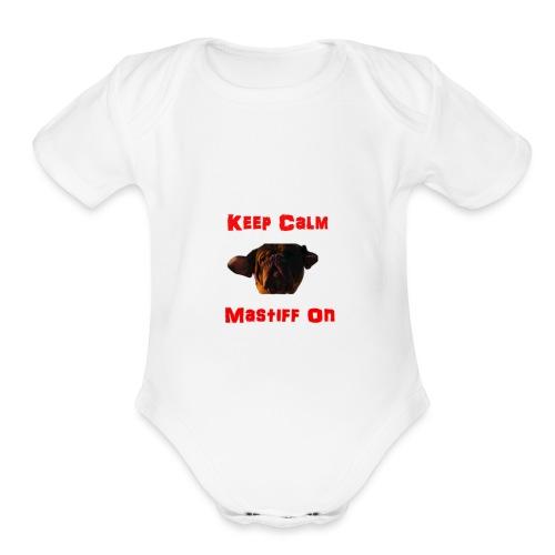 Keepcalm - Organic Short Sleeve Baby Bodysuit