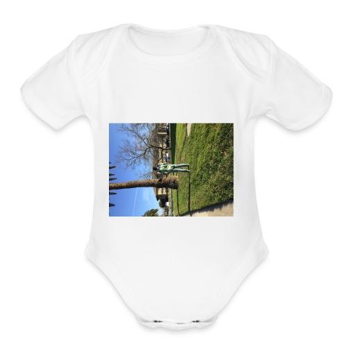 IMG 2439 - Organic Short Sleeve Baby Bodysuit