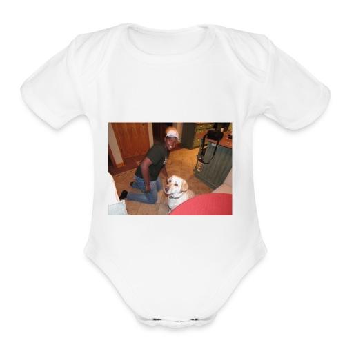 IMG 0473 - Organic Short Sleeve Baby Bodysuit