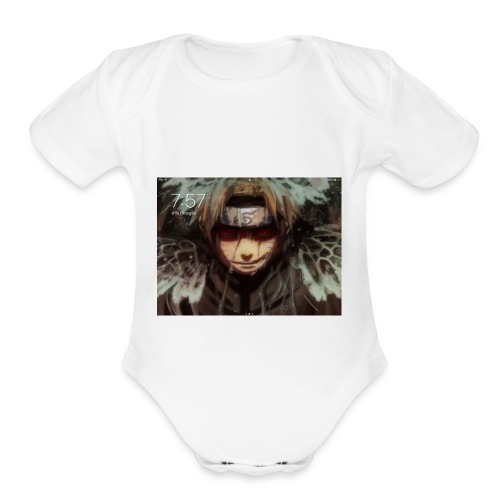 Joshua - Organic Short Sleeve Baby Bodysuit