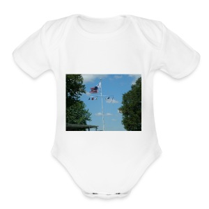 TOMMY TEES - Short Sleeve Baby Bodysuit