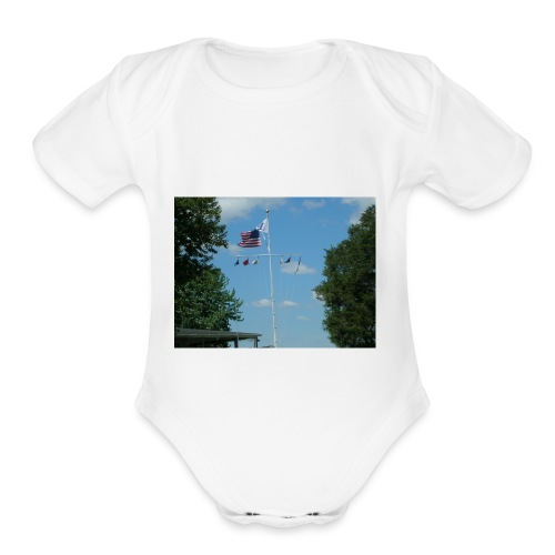 TOMMY TEES - Organic Short Sleeve Baby Bodysuit